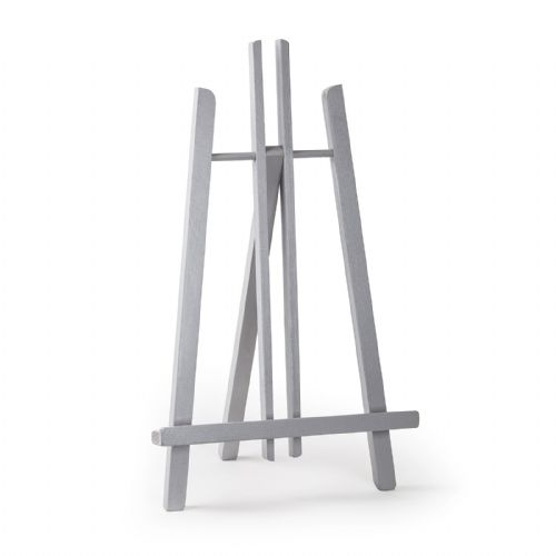 "Grey Colour Easel Kent 20"" - Beech Wood"